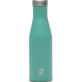 MIZU S4 Bottle with Stainless Lid 400ml green